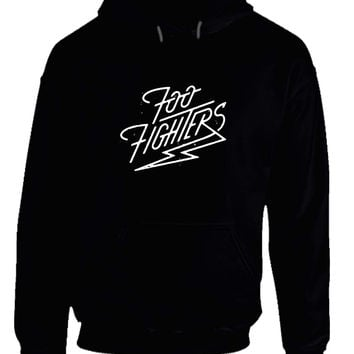 Foo Fighter Logo Lightning Zap Hoodie