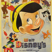 Pinocchio 11x17 Movie Poster (1940)