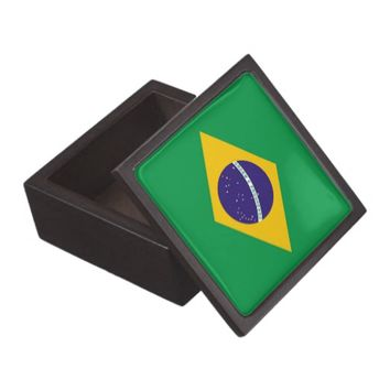 Brazilian Flag Premium Gift Box