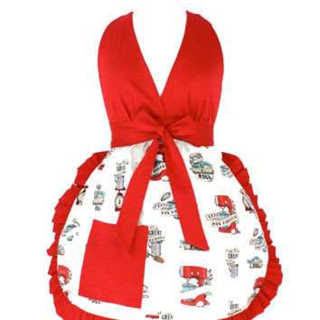 Hemet in the Kitchen Full Bib Cooking Apron