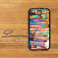 paint brushes,s4 active case,samsung galaxy S3 mini case,S4 mini case,samsung galaxy S3 case,S4 case,samsung galaxy note 2 case,note 3 case