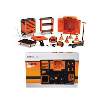 Beta Garage Mechanic Accessory Tools 13pc Tool Kit Set For 1:18 Scales