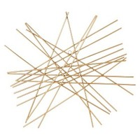 Nate Berkus Starburst Wall Decor - Gold