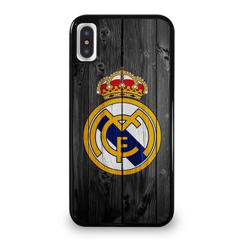 REAL MADRID FOOTBALL SOCCER TEAMS iPhone 5/5S/SE 5C 6/6S 7 8 Plus X/XS Max XR Case Cover