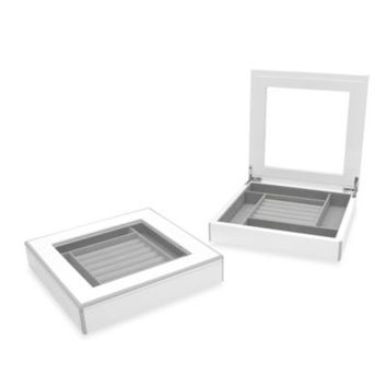 Swing Design™ Elle Lacquer Jewelry Display Box in White
