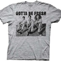Workaholics Gotta Be Fresh Heathered Gray Adult T-shirt