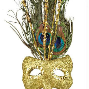 Christmas Ornament - Peacock Mask
