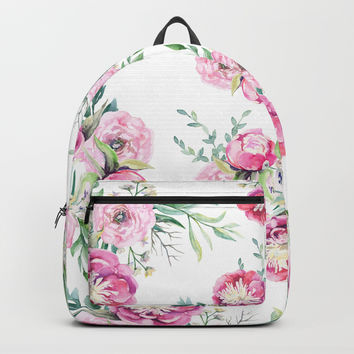 hurry spring Backpack by sylviacookphotography