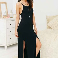 The Fifth Label Play It Right Maxi Dress- Black