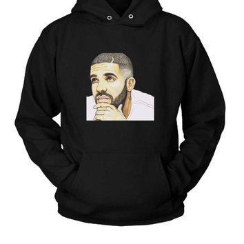 DCCK7H3 Drake Ovo Hoodie Two Sided