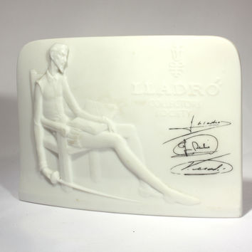 Lladro Collectors Society Member Plaque