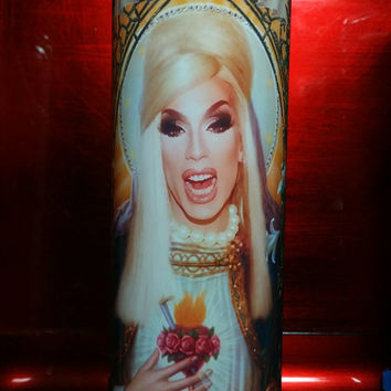 Alaska of Drag Race - Drag Queen - Queens Celebrity Saint Prayer Candles