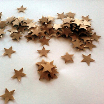 Star Confetti 500 pcs Craft Paper Mini Stars Table Scatter Rustic Wedding Baby Shower Bridal Shower Reception  Party Decoration