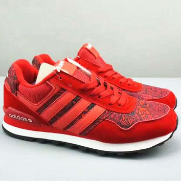Adidas NEO Graffiti Fashion Women Boots Casual Sports Shoes G-MLDWX