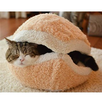 Warm and Cozy Cat Bed