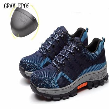 Men Anti-electric Oxfords Boots Work Safety Shoes Steel Toe Cap Anti-Smashing Puncture Proof Durable Winter Protective Footwear