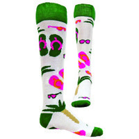 Flip Flop Socks -  CrossFit Socks - Funky Feeling Like Summer Socks -