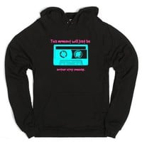 Perks of Being a Wallfower quote-Unisex Black Hoodie