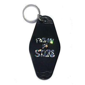 Follow The Stars Holographic Keychain