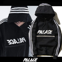 Palace Skateboard Hoodies Men Pullover zipper kanye West Sweatshirts Printed Autumn Spring Tracksuit 2017 Streetwear ZOOTOP BEAR