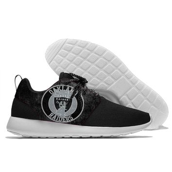 Runing men and women Raiders football players Carr Cooper Jackson Lynch Mack Nelson Stabler Walking Shoes Oakland shoes