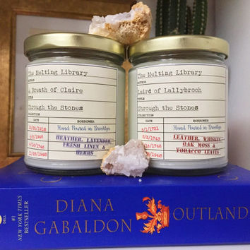 Through the Stones Duo - Outlander Inspired Candles
