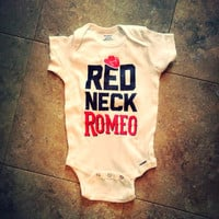 ON SALE Red Neck Romeo Onesuit Shirt