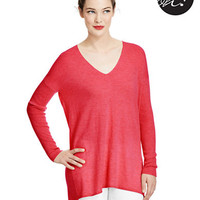 424 Fifth Spring Cashmere V-Neck Tunic