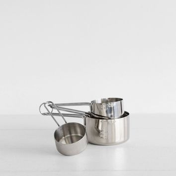 Stainless Steel Set of 4 Measuring Cups