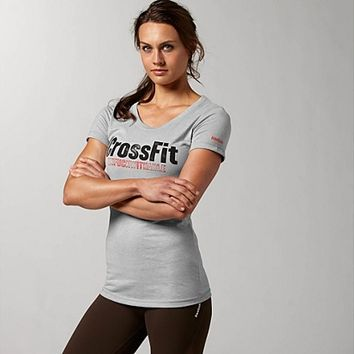 Reebok Women's Reebok CrossFit Graphic Unfuckwithable Tee Short Sleeve Tops | Official Reebok Store