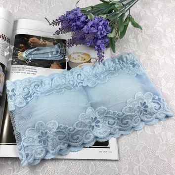 e6337002c4 Sexy Wrapped Chest Crop Top Strapless Bra Lace Bralette Lingerie