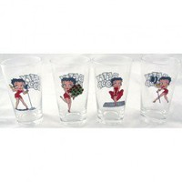 Betty Boop Pint Glass Beer Tumbler Your favorite online gift shop!