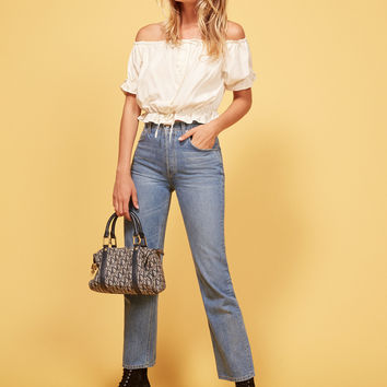 Cynthia High Relaxed Jean