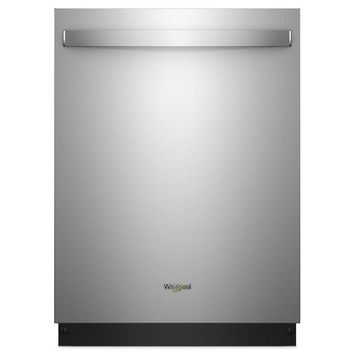 Shop Samsung 44-Decibel Built-In Dishwasher (Stainless Steel) (Common: 24-in; Actual: 23.875-in) ENERGY STAR at Lowes.com