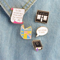 Bookworms Enamel Pins