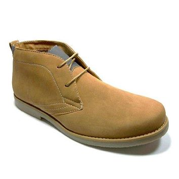 Men's 506008 Ankle High Lace Up Casual Boots