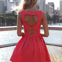 HEART CUT OUT DRESS , DRESSES, TOPS, BOTTOMS, JACKETS & JUMPERS, ACCESSORIES, $10 SPRING SALE, PRE ORDER, NEW ARRIVALS, PLAYSUIT, GIFT VOUCHER, $30 AND UNDER SALE, Australia, Queensland, Brisbane