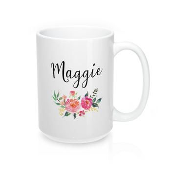 Maggie Personalized Name Mugs