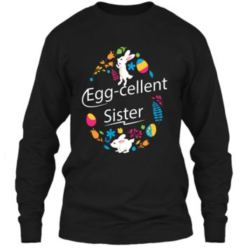 Family Matching Easter Outfit For Sister LS Ultra Cotton Tshirt