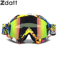 Zdatt Motocross  Motorcycle Goggles Moto Glasses Fox Racing Ski Goggles Windproof Mx Goggles Antiparras Motocross New 01