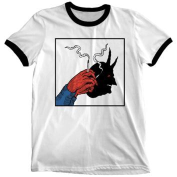 Shadow Puppets Ringer Shirt