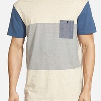 Men's Quiksilver 'Stranger' Colorblock Pocket T-Shirt