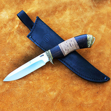 Camping Knife, Bushcraft knife, Stainless steel knife, Knife Collection, Custom bowie, Fixed blade, Handmade Hunting Knives, Hunting knife