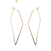 Delicate Point Hoop And Stud Earrings | Gold | Accessorize