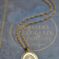 Dainty Map Locket