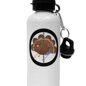 Turkey Trouble - Thanksgiving Funny Aluminum 600ml Water Bottle