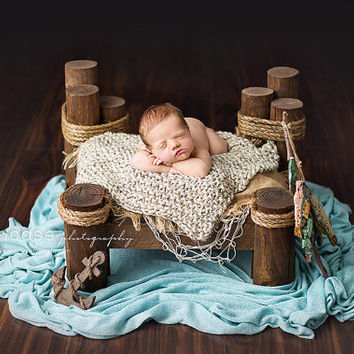 Fishing Dock Prop, Perfect Little Pier Prop, Boat Prop, Newborn Photography Prop, Boat Photo Prop, Newborn Photo Prop