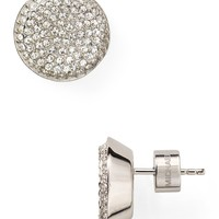 Michael Kors Concave Pave Stud Earrings | Bloomingdale's