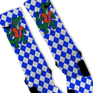 Florida Gators Custom Nike Elite Socks