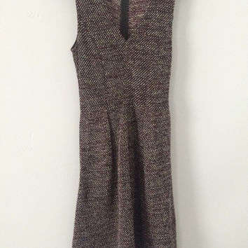 Madewell Tweed Sleeveless Dress